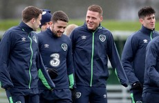 Good news for Ireland as quartet return to training ahead of World Cup qualifier