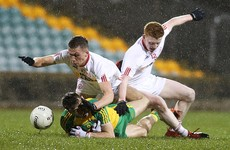Langan hits 0-7 as Donegal see off 13-man Tyrone in replay to reach Ulster U21 semi-finals