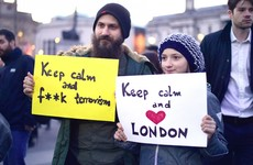 'We are not afraid' - London pays tribute to Westminster victims