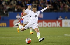 World's best women's player Carli Lloyd makes instant impact on Champions League debut