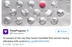 Women everywhere are rolling their eyes at this deeply dumb stat about men and the pill