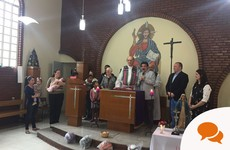 Atheist John Halligan's sermon in a Brazilian church: 'I felt it was the respectful thing to do'