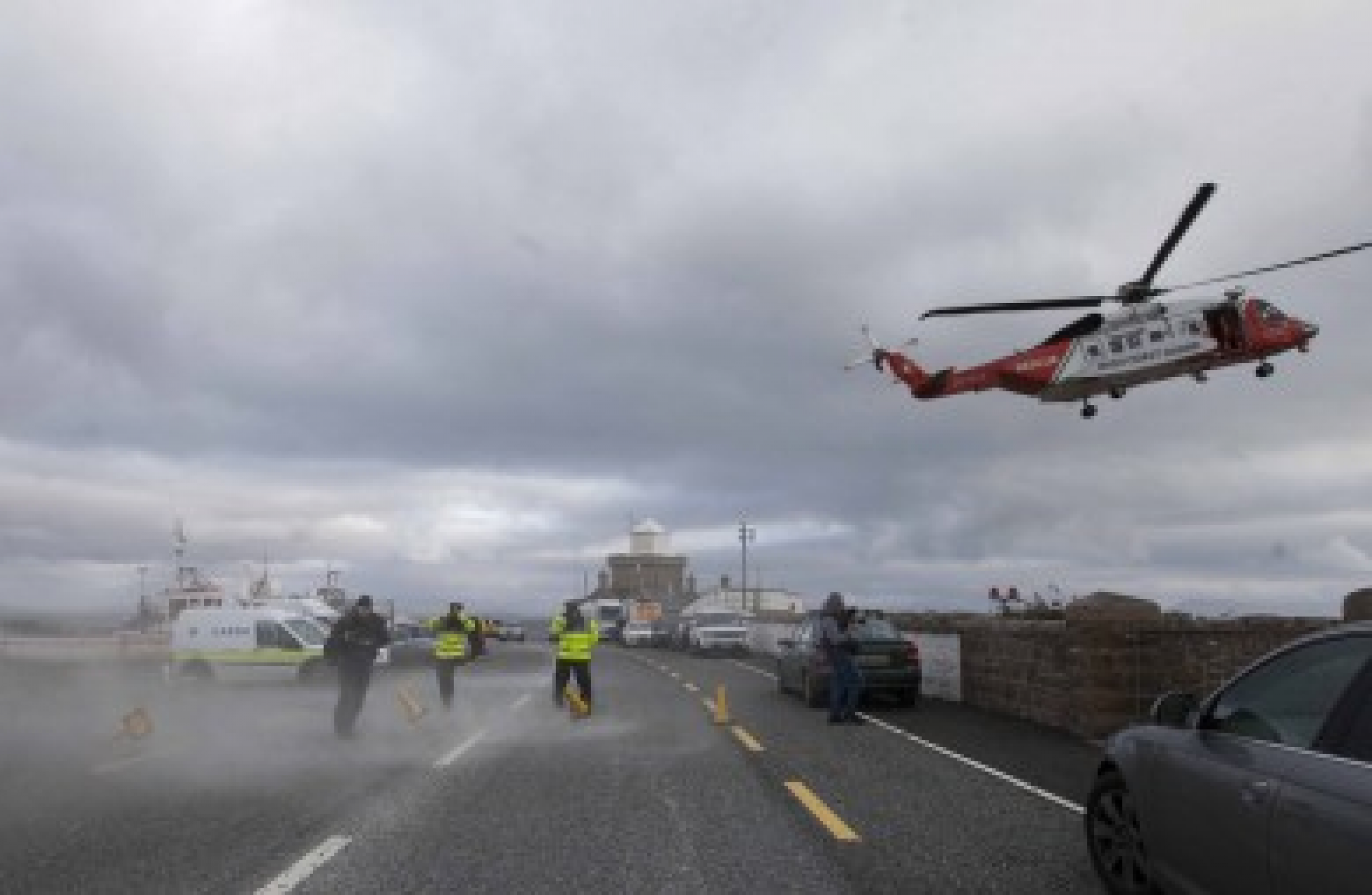 R116 coastguard helicopter: Body of crew member recovered