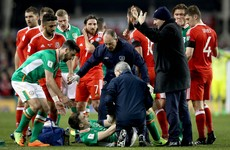 Ireland's World Cup qualifier overshadowed by serious injury to captain Seamus Coleman