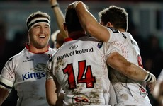 Ulster keep Pro12 playoff chase on track with late win against Dragons
