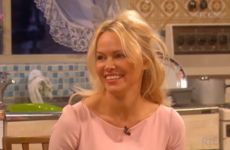 Pamela Anderson had not one clue what was going on on Mrs Brown's chat show last night