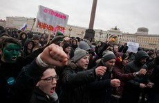 Russian opposition leader jailed following unsanctioned Moscow protest