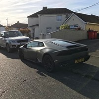 Conor McGregor was cruising around Crumlin in his Lamborghini yesterday... it's the Dredge