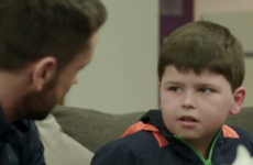 Robbie Brady makes a young fan's day and the look on his face is absolutely priceless