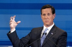 US 2012: Did Rick Santorum actually beat Mitt Romney in the Iowa caucus?