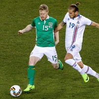 Horgan impresses as four players earn first caps but Ireland suffer defeat to Iceland