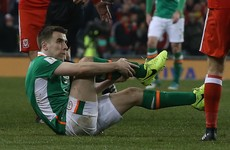 Seamus Coleman 'doing much better' as Michael D pays him a visit