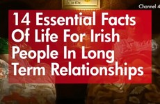 14 essential facts of life for Irish people in long term relationships