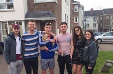 A Galway nightclub has shared a heartwarming story about a group of students and a pup named Biggie