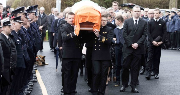 'Paralysed with grief, we have lost one of God's finest creatures' - funeral of Captain Mark Duffy takes place