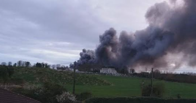 Cars that were seized by gardaí destroyed in Louth warehouse blaze