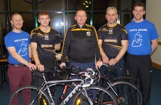 Croker to Killimor: Galway GAA club partner with Pieta House for 186km fundraising cycle