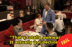 Everyone was watching through their fingers as a lad's card was declined on First Dates Ireland
