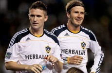 Staying put: Beckham signs new 2-year deal to stay in Los Angeles