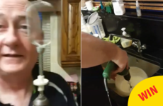 A Wexford man came up with the most 'dad' solution to whipping cream