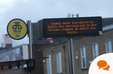 Were Bus Eireann workers legally allowed to picket Dublin Bus and Irish Rail?
