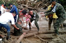 President Higgins extends sympathy to Colombia as mudslide death toll tops 200