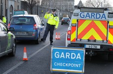 How were the 150,000 garda hours for phantom breath tests accounted for?