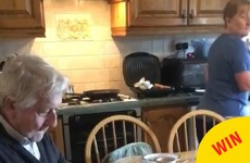These grandparents in Dublin had the best reaction to their daughter's April Fool
