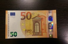 There's a new high-security €50 note out tomorrow - here's a sneak peek