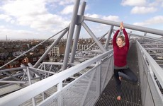 Always wanted to do yoga on the roof of Croke Park? Well... now you can