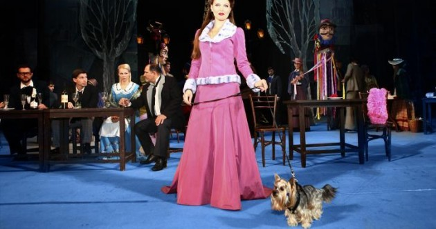A cute and well-behaved dog is needed to star in an opera in the National Concert Hall this month