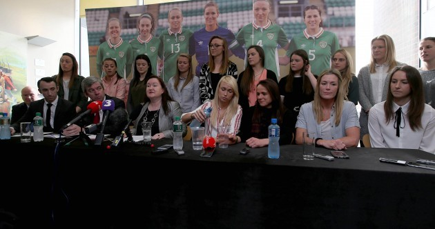 Republic of Ireland women football team resolved following successful talks