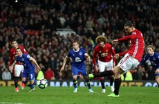 United snatch draw at the death as Zlatan scores from the spot