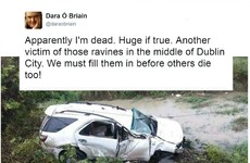 Dara Ó Briain responded brilliantly to the most ludicrous fake news story about his death