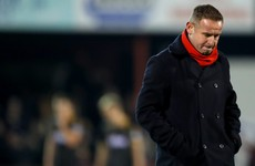 Dave Robertson is the second League of Ireland managerial casualty this week