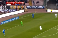 Dries Mertens' goal against Juventus is the definition of an instant impact