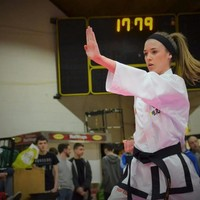 The Trinity student who�s a world champion in taekwondo