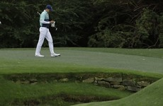 Nightmare quadruple-bogey costs Spieth in unpredictable start at the Masters