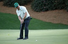 Dustin, Hoffman make Masters headlines on a 'difficult' day one
