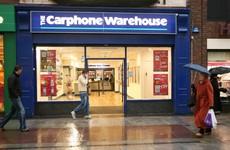Losses at Carphone Warehouse's Irish arm soared to €12m last year