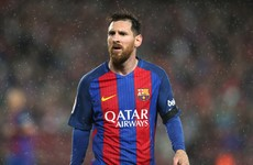 Italian muscle man comes to Lionel Messi's rescue