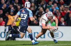 Ulster's Pro12 play-off hopes take a hit with Cardiff Blues draw