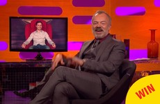 There was a lovely red chair pregnancy announcement on Graham Norton last night
