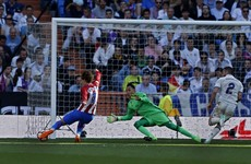 Real Madrid's title hopes dealt a blow by brilliant Griezmann in Madrid derby