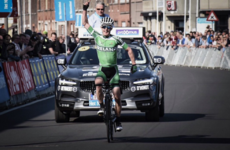 Eddie Dunbar puts down big marker with historic stage win at U23 Tour of Flanders