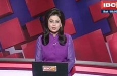 Television presenter reads breaking news report detailing her husband's death