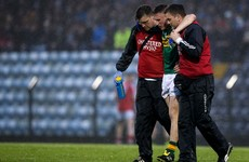 Dislocated kneecap set to rule Kerry captain out of All-Ireland U21 semi-final against Galway