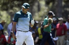 It could be a long night ahead as Sergio Garcia and Justin Rose battle it out at Augusta