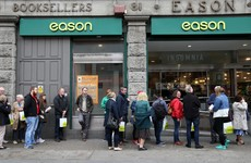 Eason's boss is stepping down after seven years at the bookseller's helm