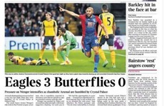 'Eagles 3 Butterflies 0': Wenger and Arsenal slammed after Palace loss